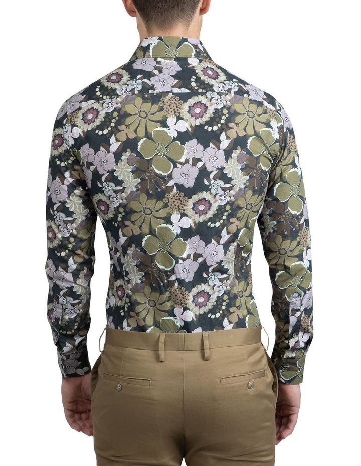 Green Floral Bryson Shirt FAJ719 image 3