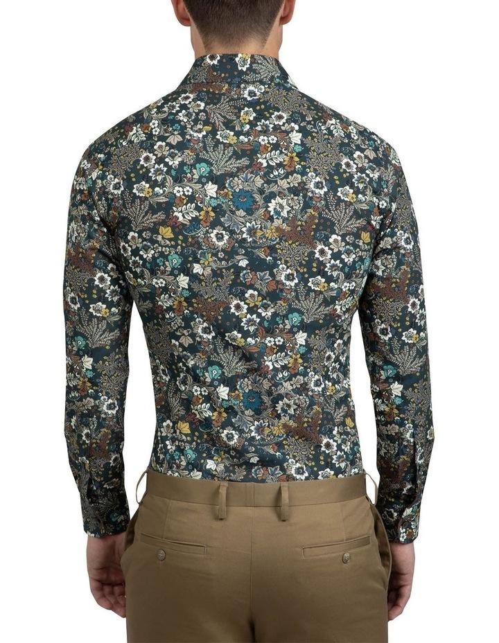Khaki Floral Bryson Shirt FAJ720 image 3