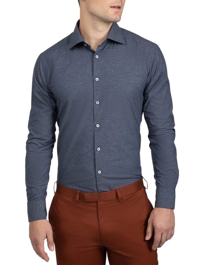 Slim Fit  Navy Bryson Shirt image 1