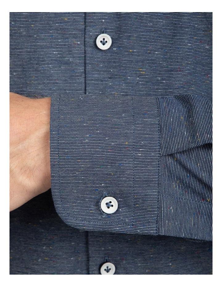 Slim Fit  Navy Bryson Shirt image 4