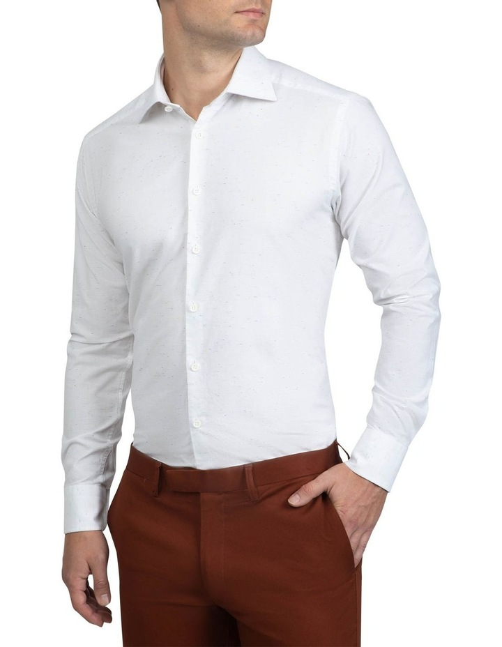 Slim Fit White Bryson Shirt image 2