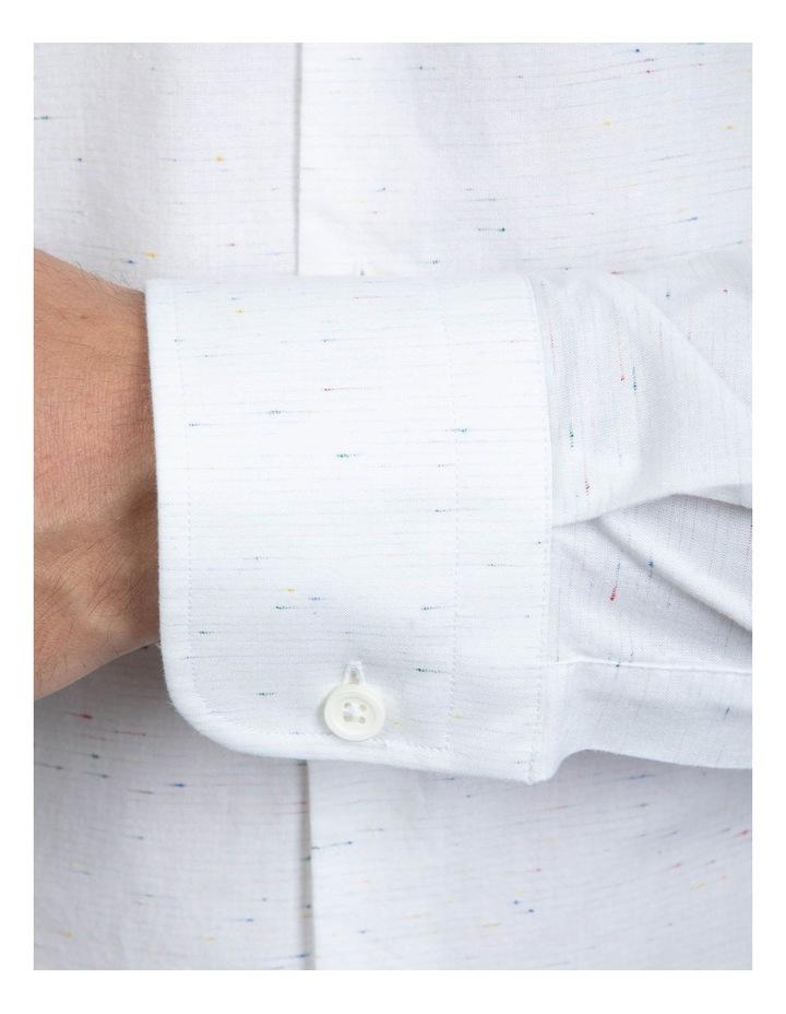 Slim Fit White Bryson Shirt image 4