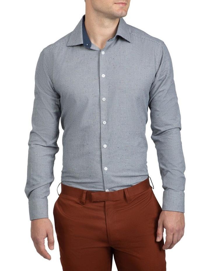 Grey Houndstooth Bryson Shirt image 1