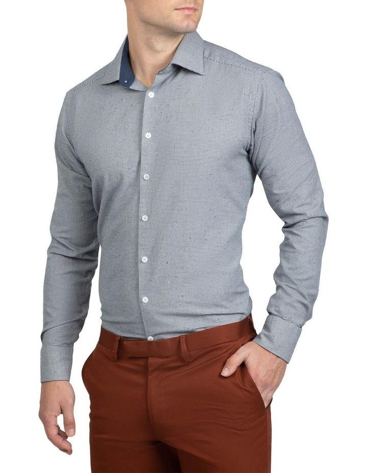 Grey Houndstooth Bryson Shirt image 2