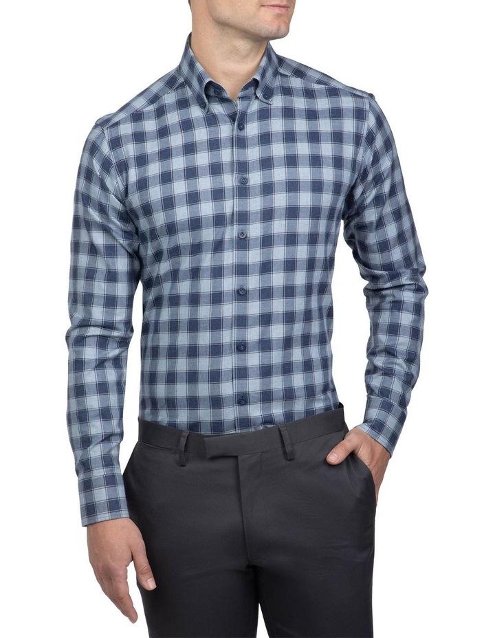 Blue Slim Fit Dayton Shirt image 1