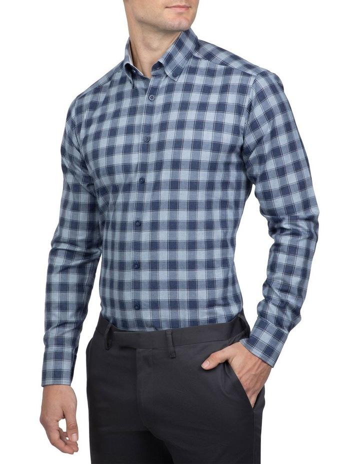 Blue Slim Fit Dayton Shirt image 2