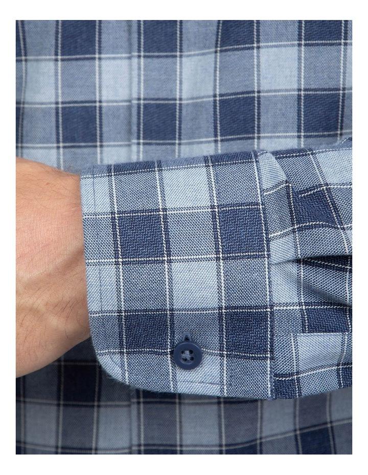 Blue Slim Fit Dayton Shirt image 4