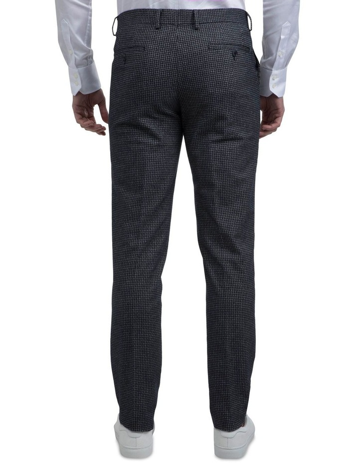 Slim Fit Dark Navy Abrams Trouser image 3