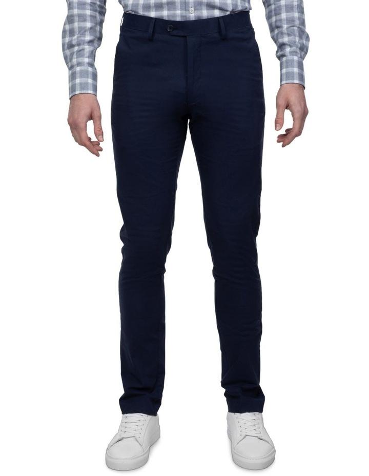 Navy Slim Fit Abrams Trouser image 1