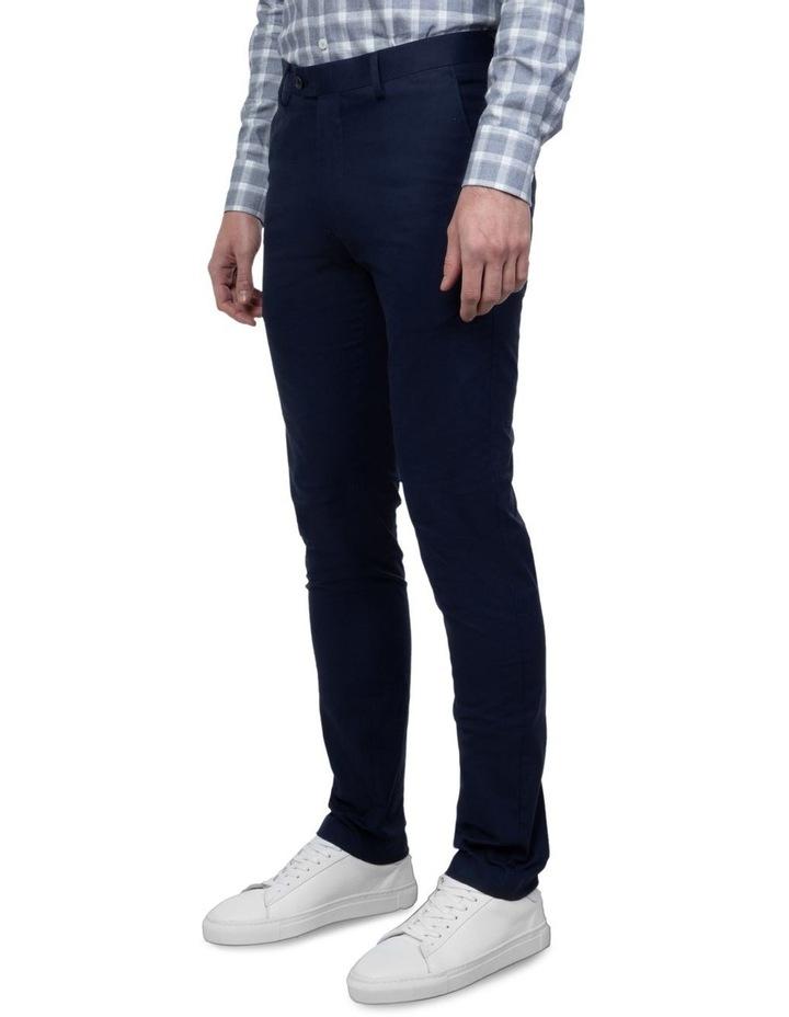 Navy Slim Fit Abrams Trouser image 2