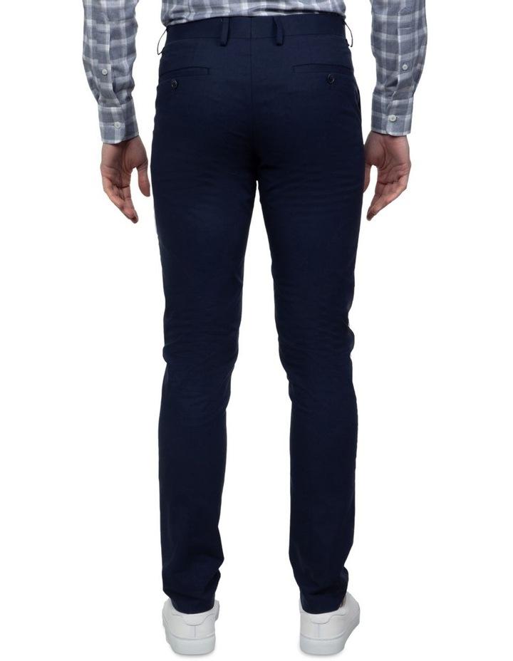 Navy Slim Fit Abrams Trouser image 3