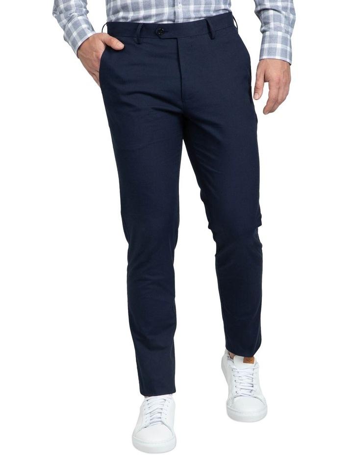 Slim Fit Blue Luca Chino image 1