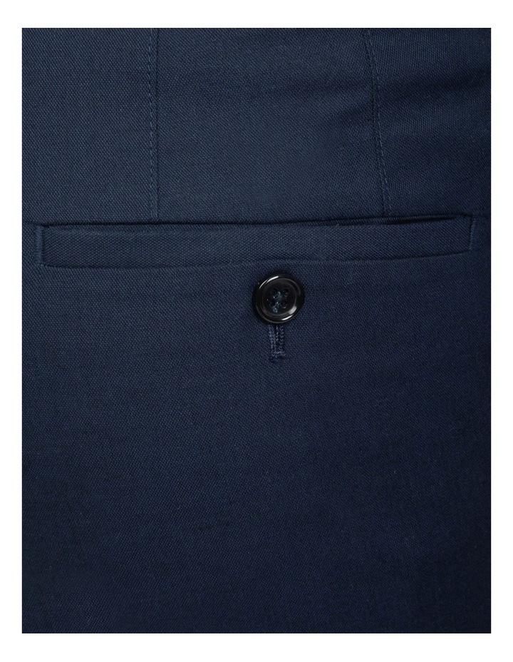 Slim Fit Blue Luca Chino image 4