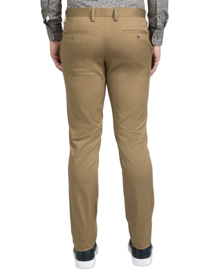 Slim Fit Taupe Luca Chino image 3