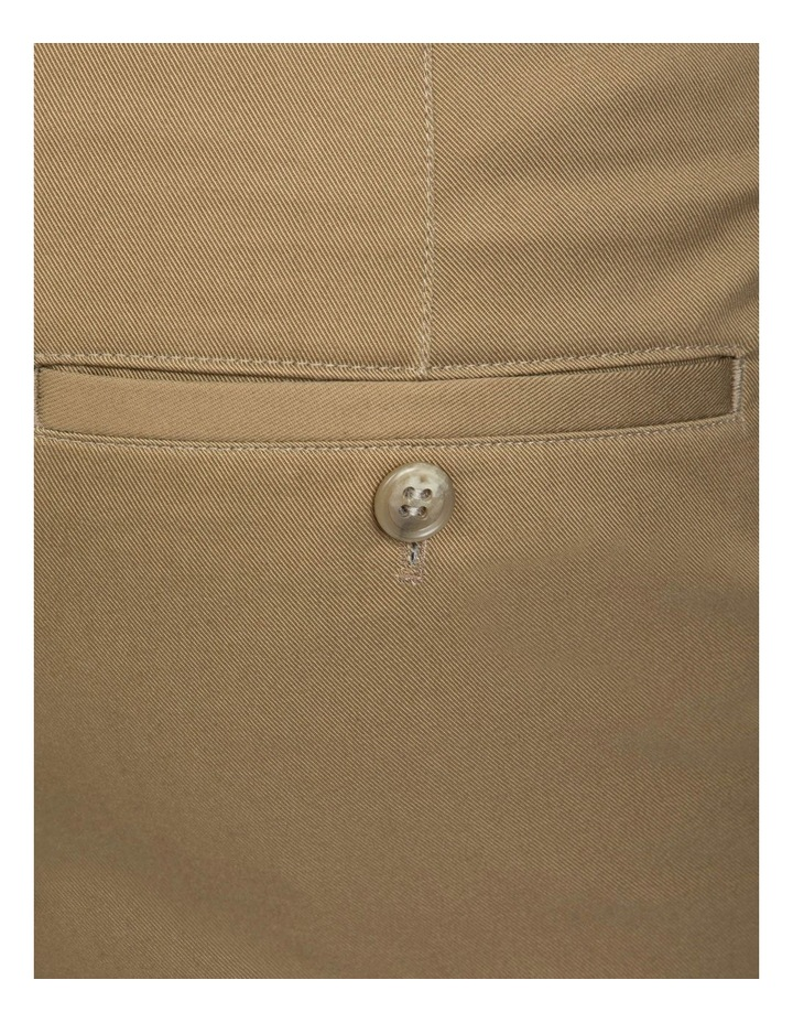 Slim Fit Taupe Luca Chino image 4