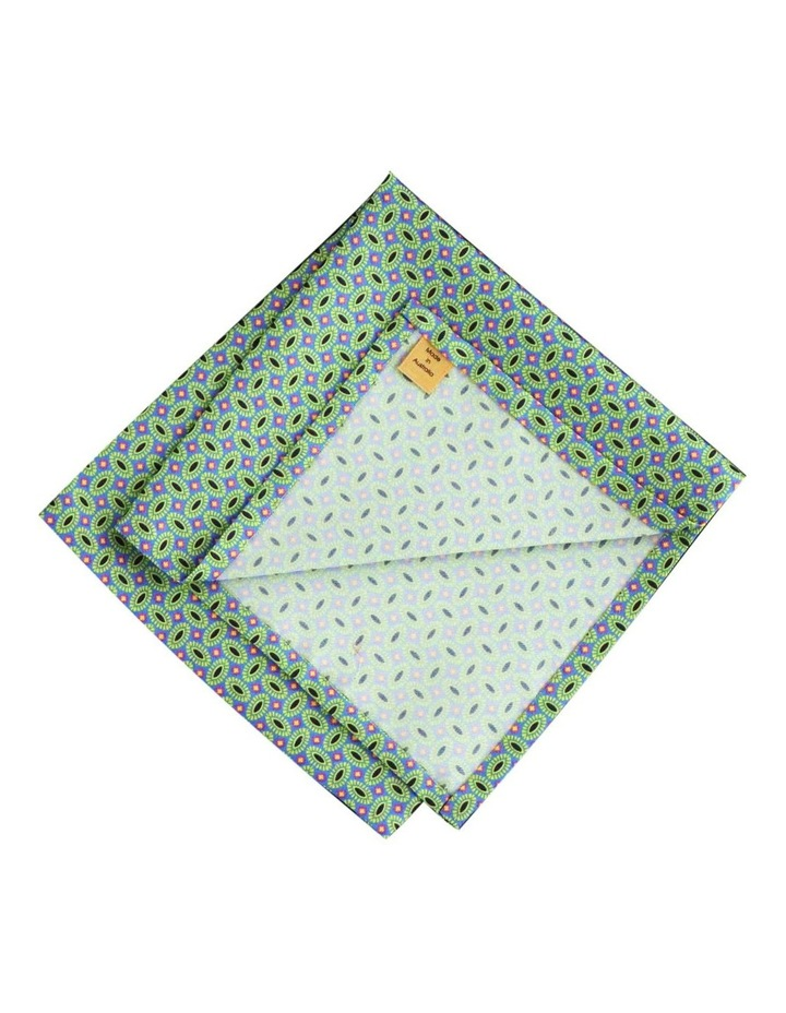 Pure Silk Pocket Square With Motifs image 2