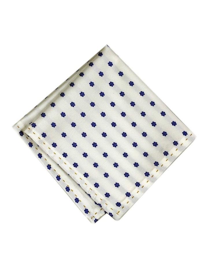 Italian Pure Silk Floral Pocket Square Australian Made image 1