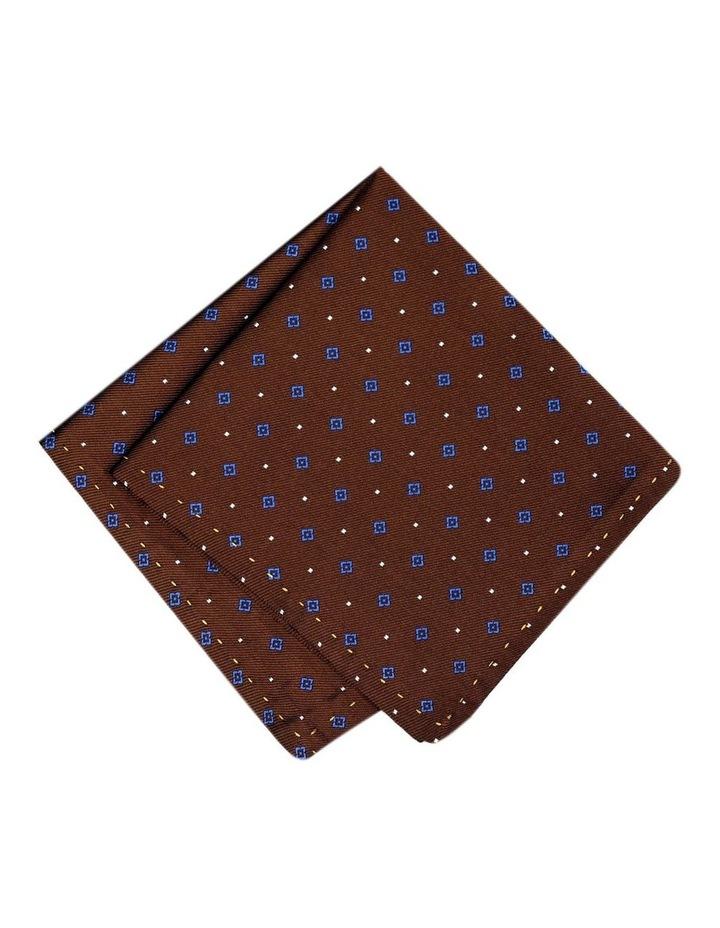 Italian Pure Silk Diamond Pattern Pocket Square Australian Made image 1