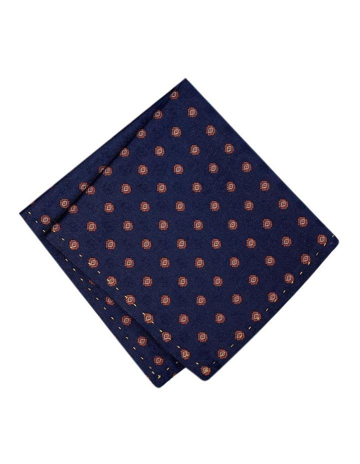 Italian Pure Silk Motif Pattern Pocket Square Australian Made image 1
