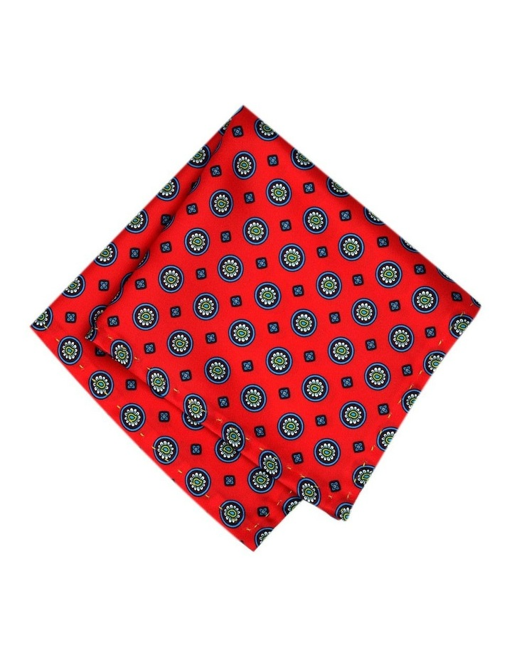 Luxurious Medallion Print Pocket Square image 1