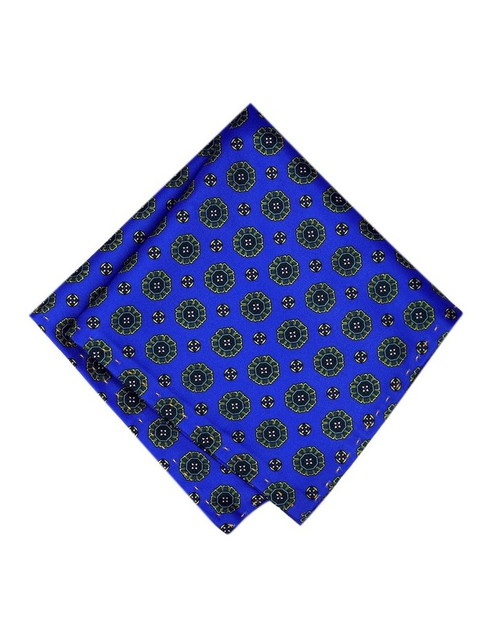 Luxurious Medallion Print Pocket Square Australian Made image 1