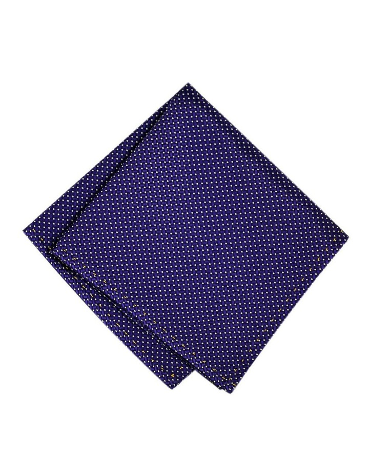 Weave Pattern Pocket Square Australian Made image 1