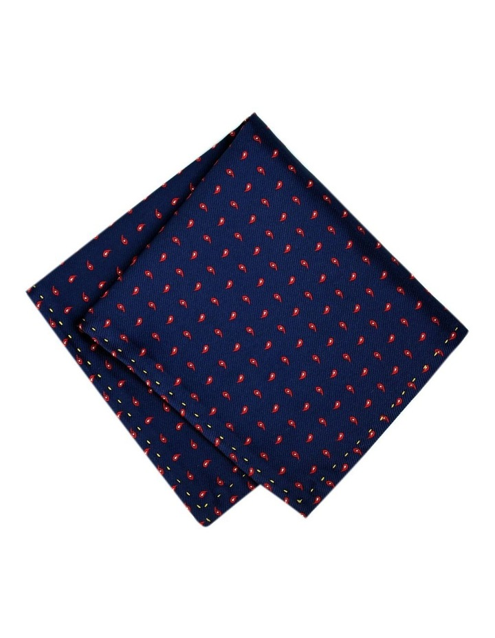 Paisley Pattern Pocket Square Australian Made image 1