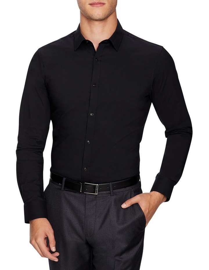 Plain Stretch Slim Fit Shirt image 1