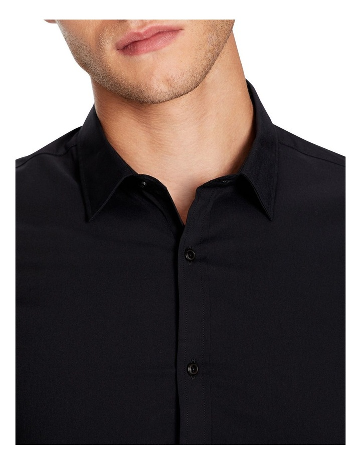 Plain Stretch Slim Fit Shirt image 3