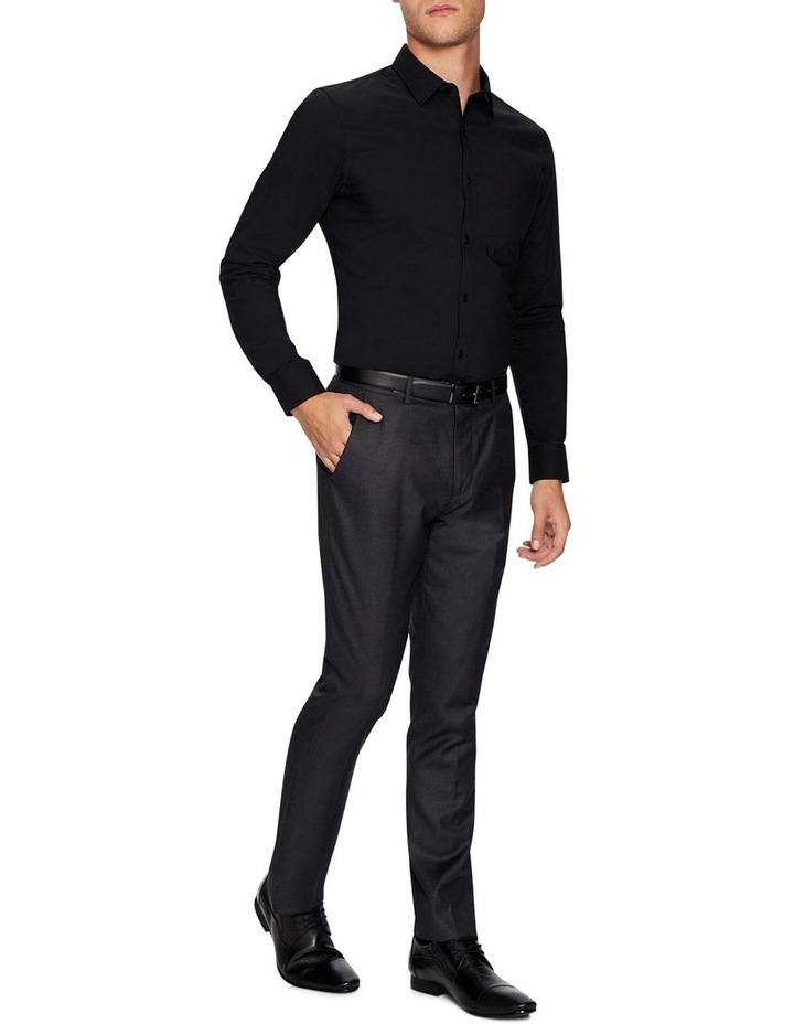 Plain Stretch Slim Fit Shirt image 4