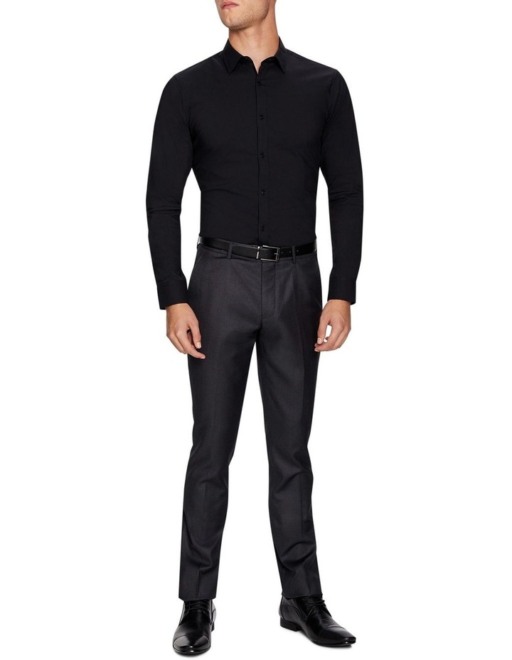 Plain Stretch Slim Fit Shirt image 5