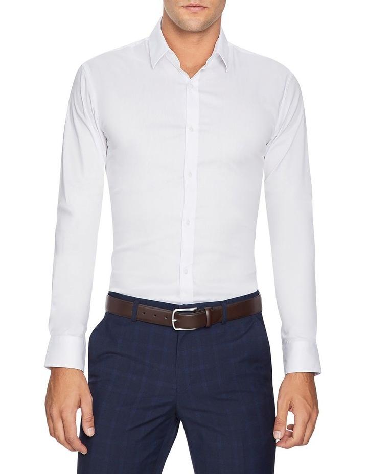Plain Stretch Slim Fit Shirt image 1
