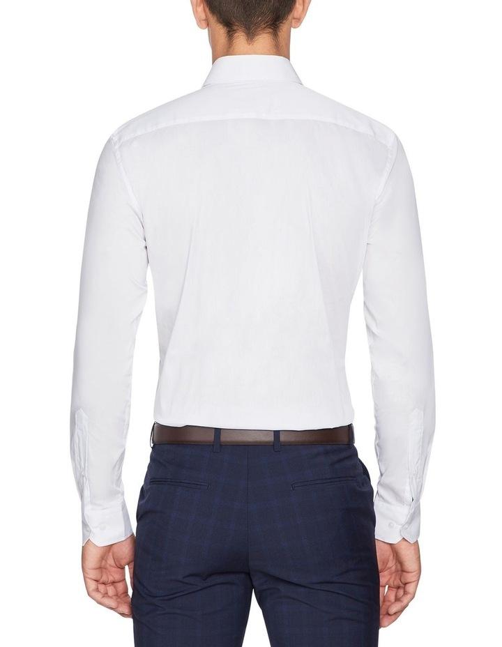 Plain Stretch Slim Fit Shirt image 2