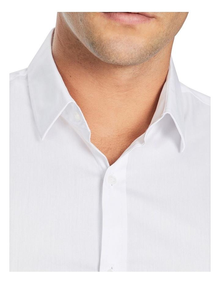 Plain Stretch Slim Fit Shirt image 3
