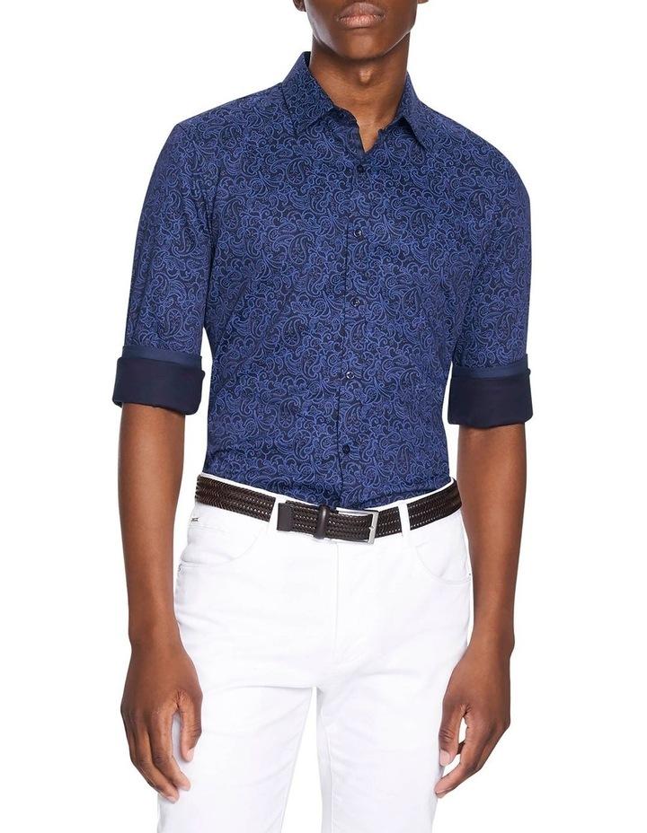 Elvis Paisley Slim Fit Shirt image 1