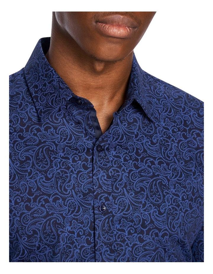 Elvis Paisley Slim Fit Shirt image 3