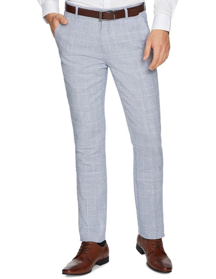 Wilson Linen Skinny Dress Pants image 1