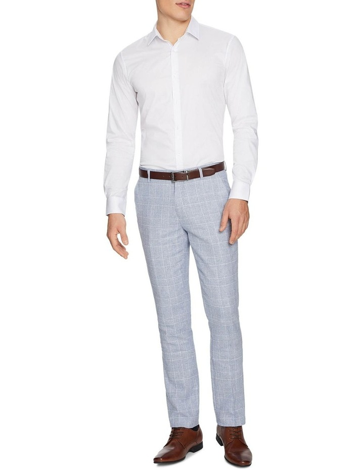 Wilson Linen Skinny Dress Pants image 4