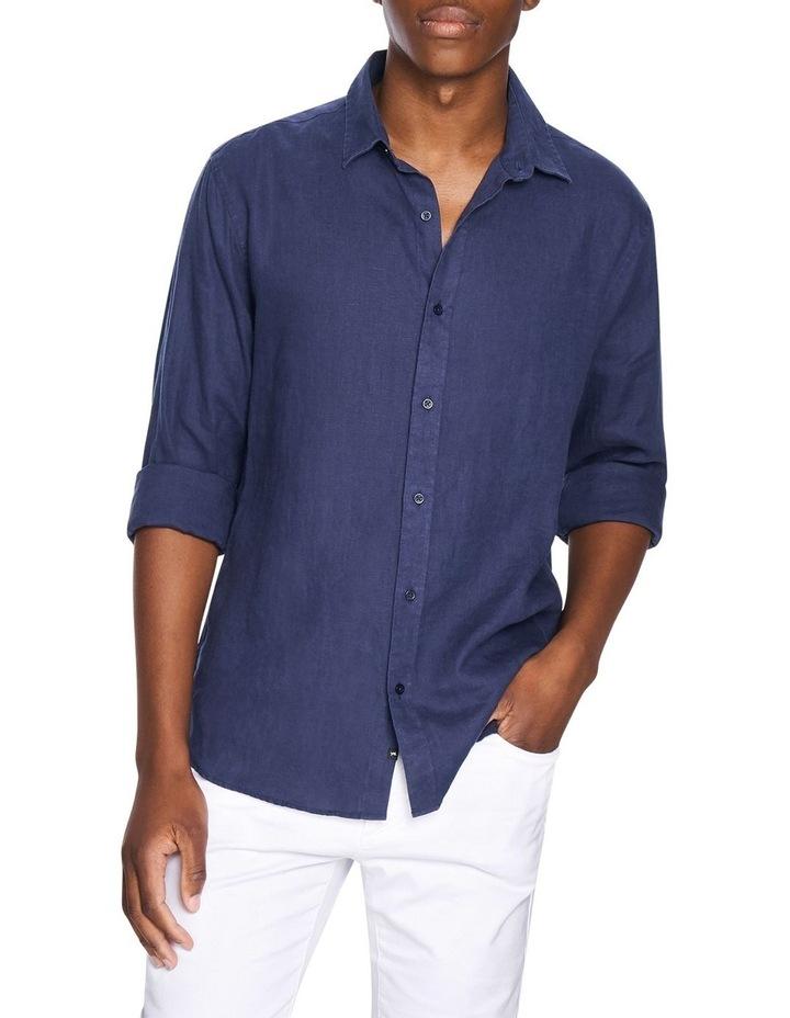 New England Linen Blend Shirt image 1