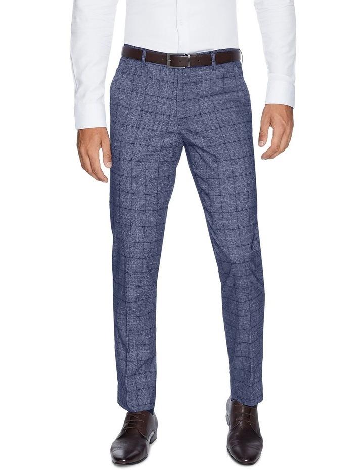 Lotus Slim Check Dress Pants image 1