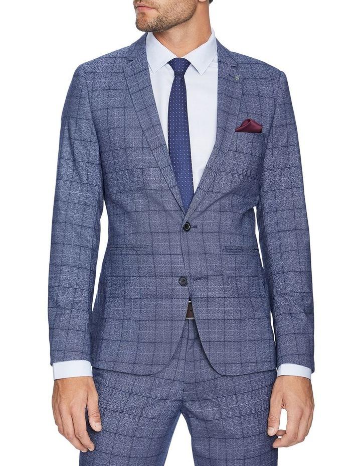 Lotus Slim Check Suit Jacket image 1