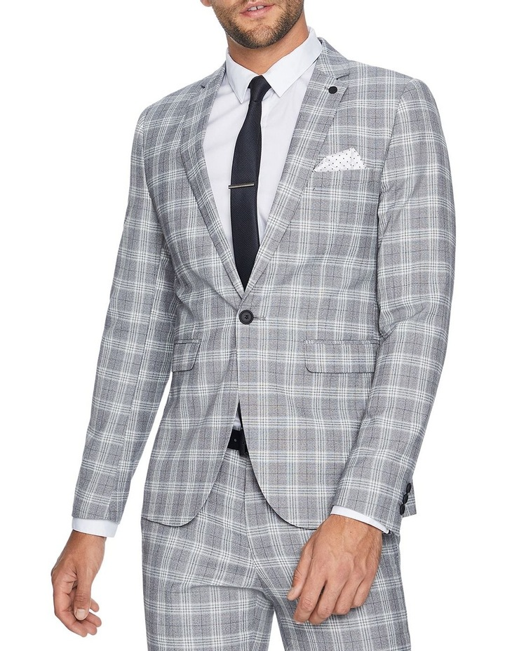 Hollywood Skinny Check Suit Jacket image 1