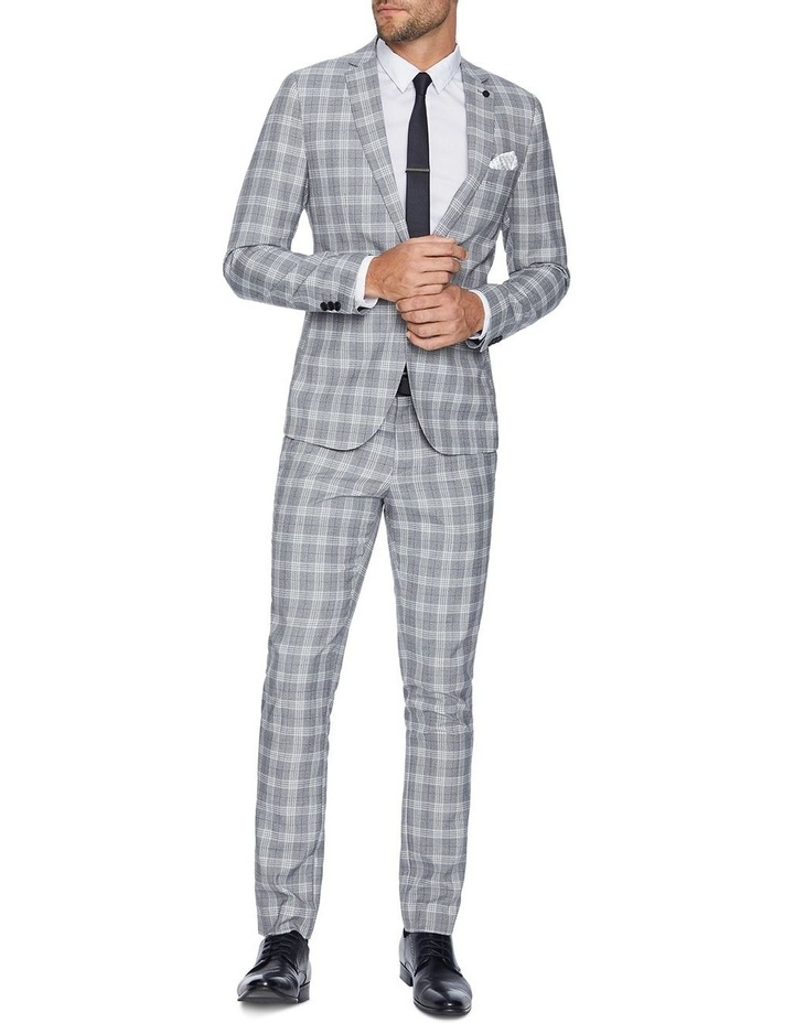 Hollywood Skinny Check Suit Jacket image 5