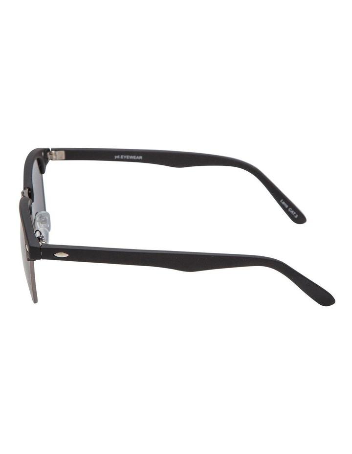Retro Mat Black Sunglasses image 3