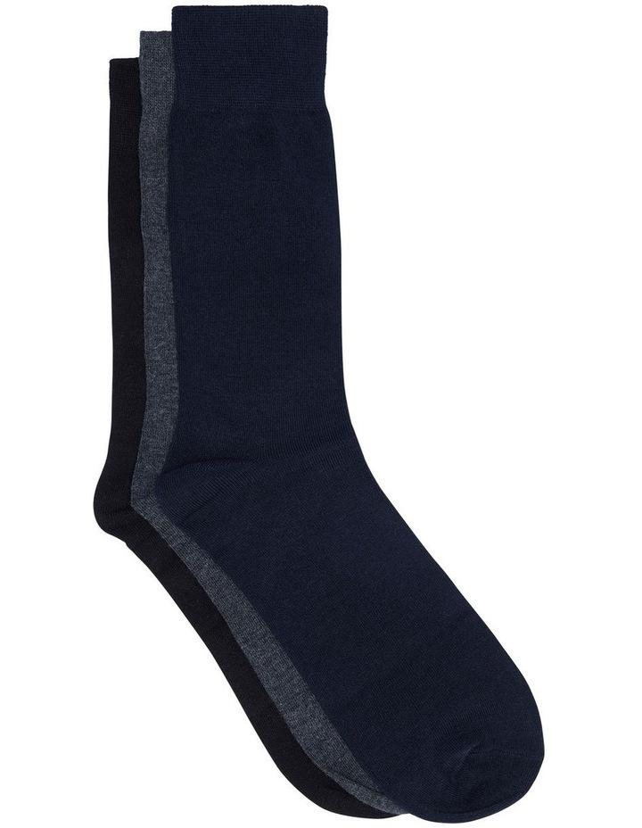 Assorted Bamboo Dress Socks image 1