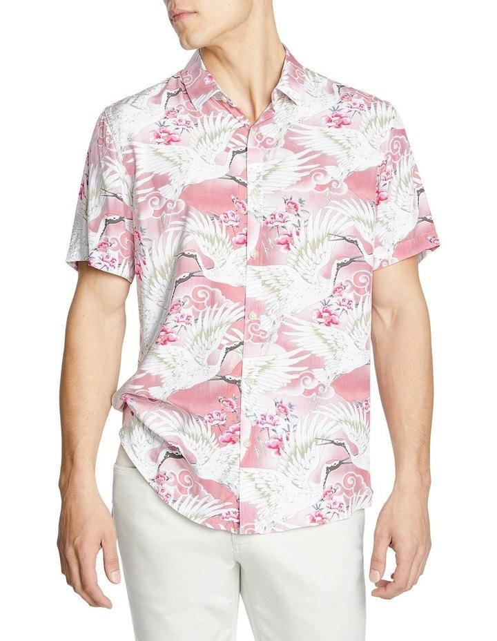 Phoenix Bird Print Shirt image 1