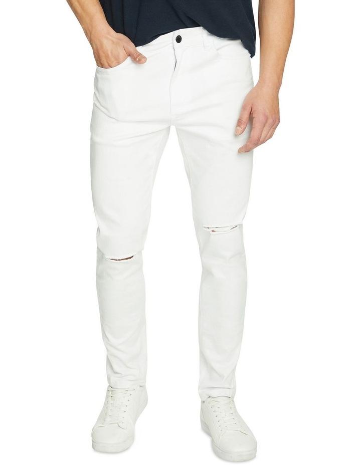 Blanco Ripped Slim Tapered Jean image 1