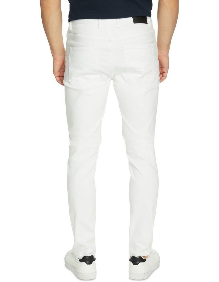 Blanco Ripped Slim Tapered Jean image 2