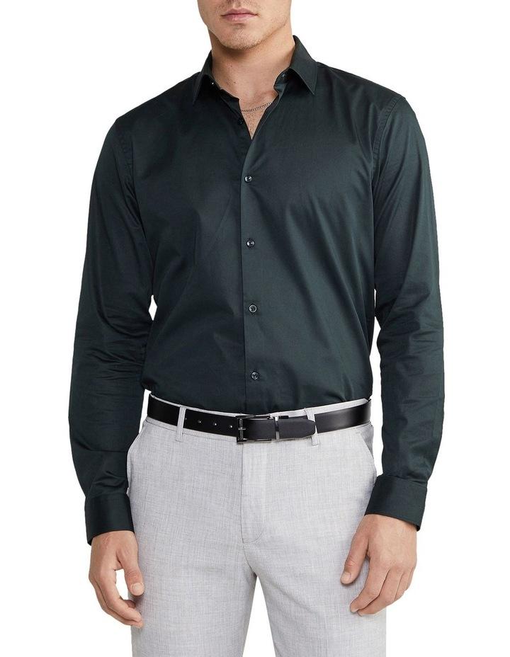 Auto Slim Dress Shirt Green image 1