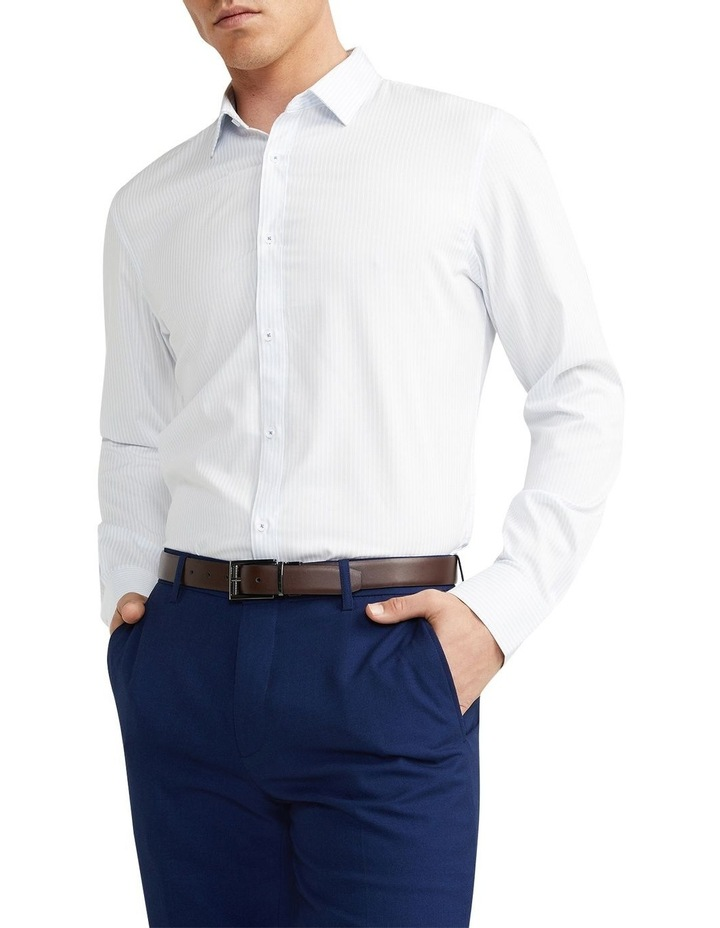 Jonathan Stripe Slim Shirt Light Blue image 1
